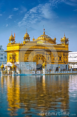 Free Golden Temple India Royalty Free Stock Images - 54873749