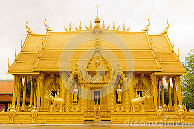 Golden Thai Chapel.