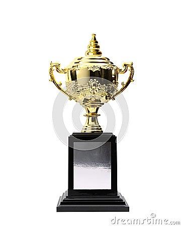 Golden trophies awards
