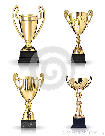 Golden trophies