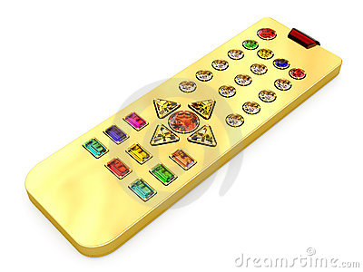 Golden universal remote control