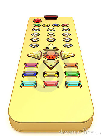 Golden universal remote control