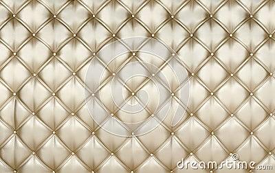 Golden upholstery background