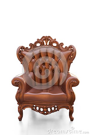 Free Golden Vintage Chair Stock Photography - 100763082