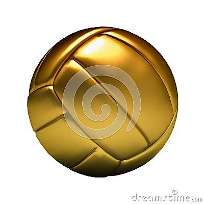 Golden volleyball