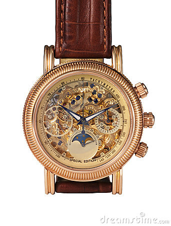 Golden watch mechanism