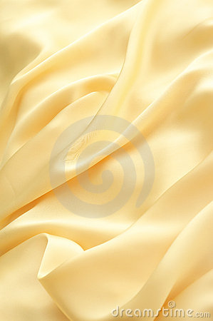 Golden wave of cloth
