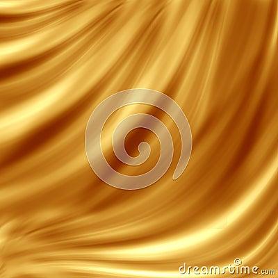 Free Golden Wave Design Stock Images - 10807504