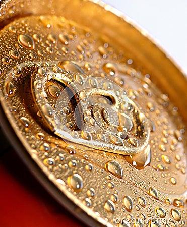 Golden wet tin