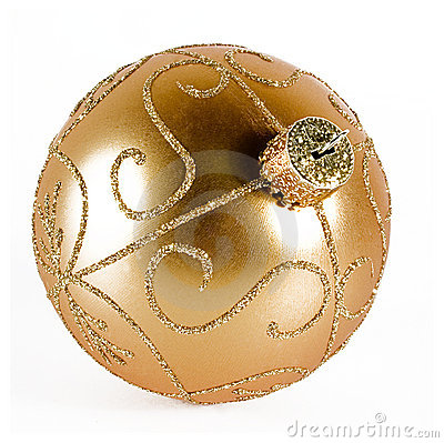 Golden Xmas Ball