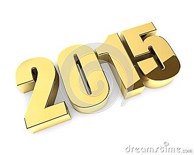 Golden 2015 year figures
