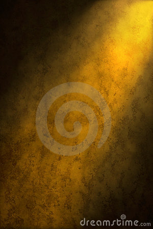 Golden Yellow Brown Abstract Background