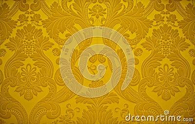 Goldene beschaffenheits tapeten dekoration lizenzfreie stockbilder bild 17624429 - Tapeten dekoration ...