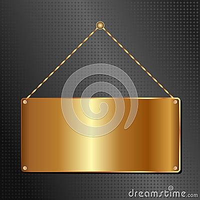 Goldene Platte