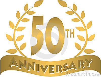 Goldene Jahrestagsfahne/ENV