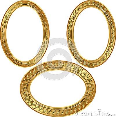 Goldenl frames