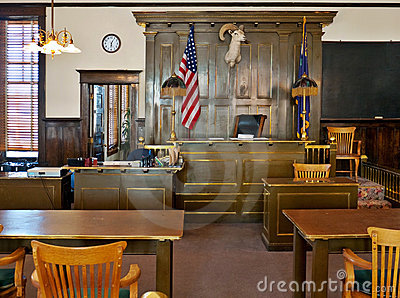Goldfield, Nevada. Esmeralda County courthouse