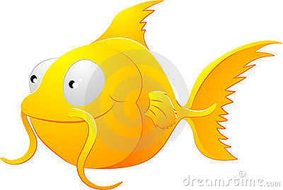Goldfish clipart illustration