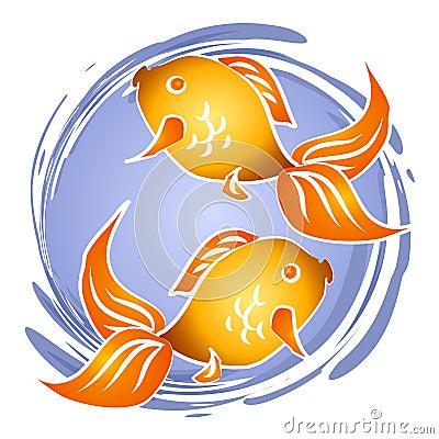 Goldfish Fish Bowl Clip Art