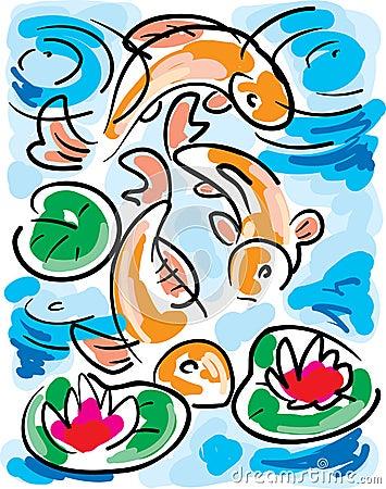 Fish Pond Clip Art – Cliparts