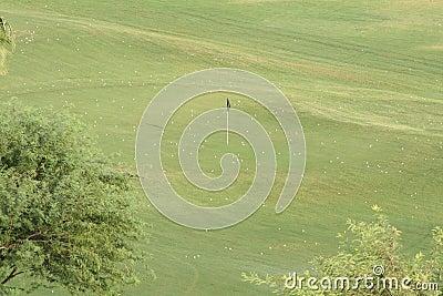 Golfövning