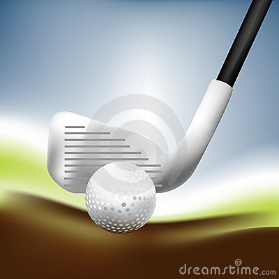 Golf 01 Fotografie Stock - Immagine: 6065273