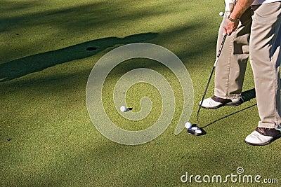 Golf 01 strzelać
