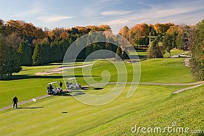 Golf 01 widok