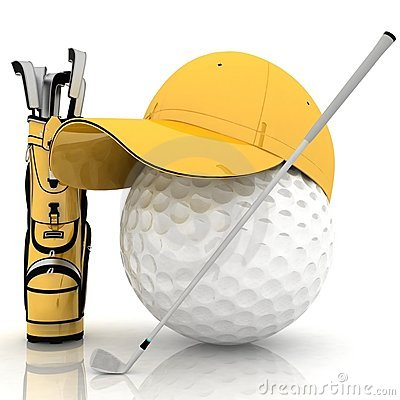 Free Golf Royalty Free Stock Images - 21708119