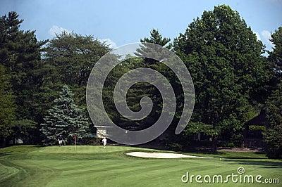 Golf Editorial Stock Photo