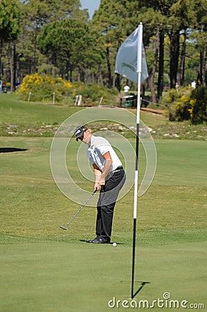 Golf - Alexander NOREN SWE Editorial Image