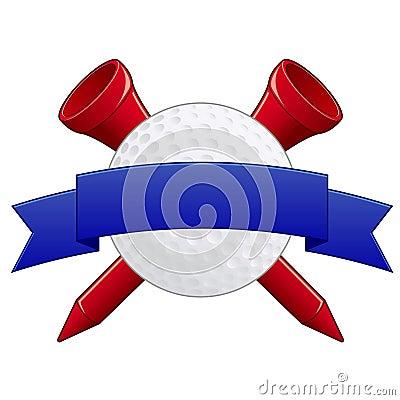 Free Golf Badge EPS Royalty Free Stock Photo - 16199125