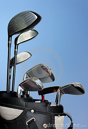 Free Golf Bag Royalty Free Stock Photography - 14298357