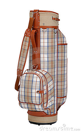 Free Golf Bag Royalty Free Stock Photography - 9803157