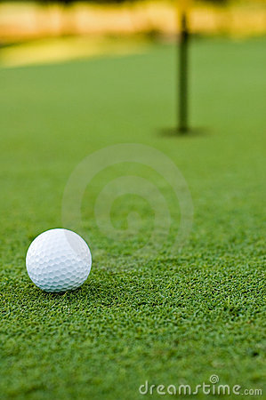 Free Golf Ball And Hole Royalty Free Stock Photos - 2117928