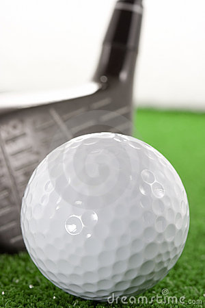 Free Golf Ball And Staff Stock Images - 5236464