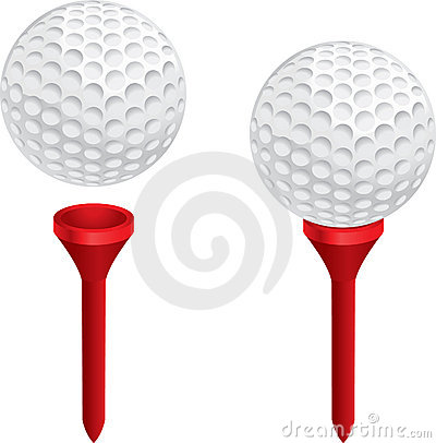 Free Golf Ball And Tee Stock Photography - 2177172