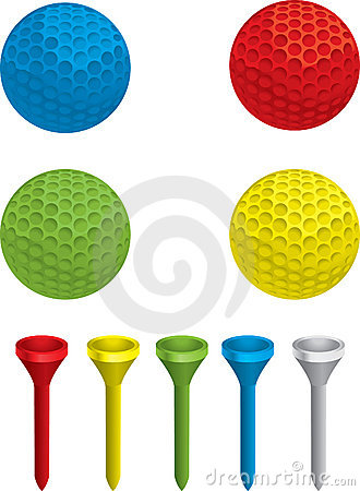 Free Golf Ball And Tee Royalty Free Stock Image - 2295006