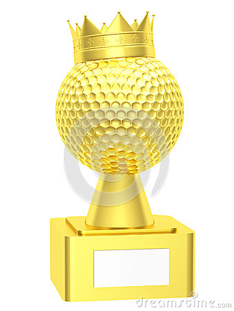 Golf ball with the cup