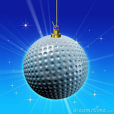 Golf ball decoration