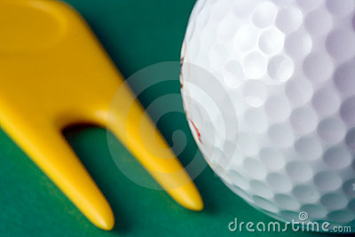 Golf Ball and Divot Repairer