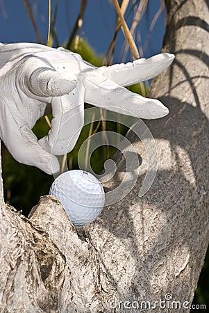 Golf ball flick
