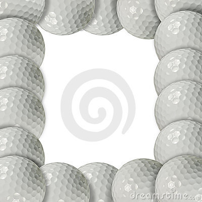Golf ball frame
