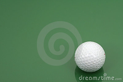 Golf ball (horizontal frame)