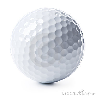 Free Golf Ball Isolated Royalty Free Stock Images - 5507489