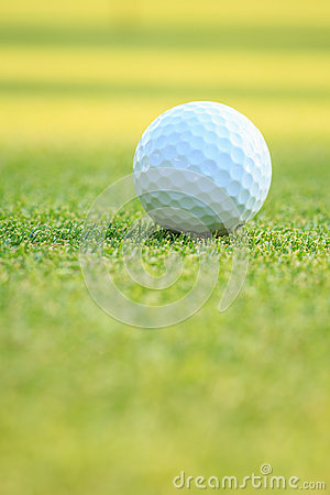 Free Golf Ball On Green Grass In Course Royalty Free Stock Photos - 72978428