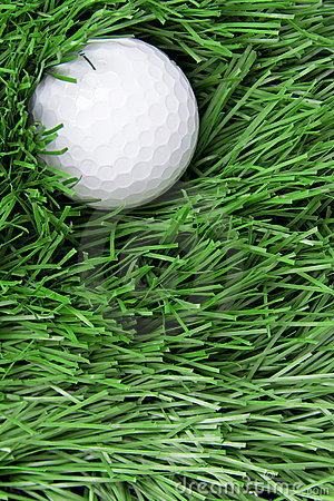 Free Golf Ball On Rough Stock Images - 22159744