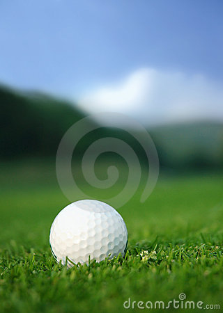 Free Golf Ball On The Course Stock Photos - 2449993
