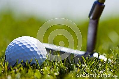 Golf Ball and Putter 1
