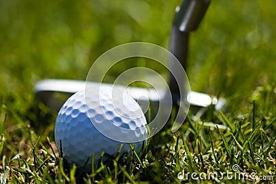 Golf Ball and Putter 2